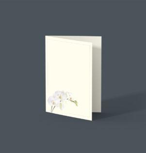 Voorgedrukte rouwkaarten