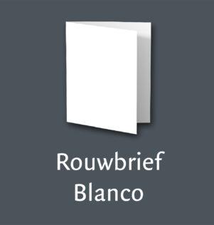 Rouwbrief Blanco