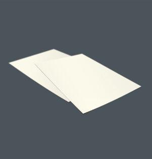 Blanco papier plano